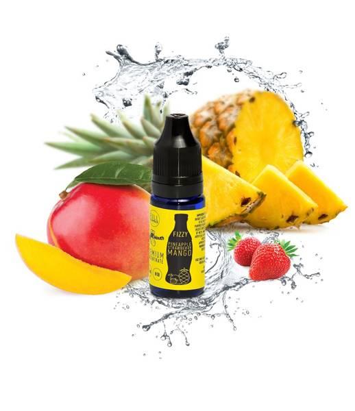 Bilde av Big Mouth Fizzy - Pineapple Strawberry Mango,