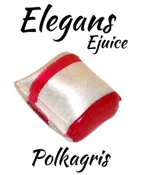 Bilde av Elegans - Polkagris, Ejuice 50/60 ml
