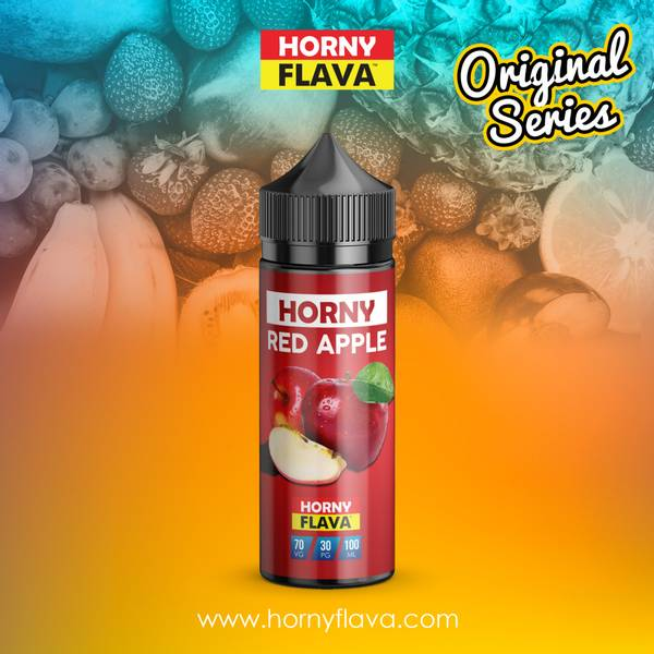 Bilde av Horny Flava - Red Apple, Ejuice 100/120 ml