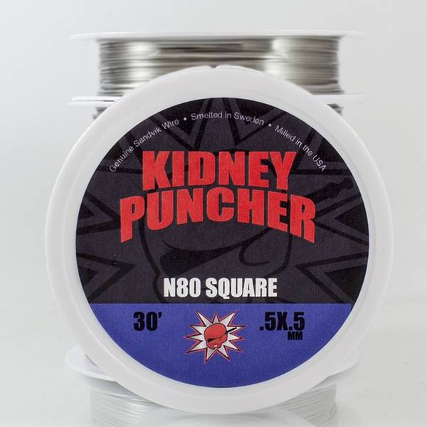 Bilde av Kidney Puncher - Nichrome 80 Square, Wire 9 m