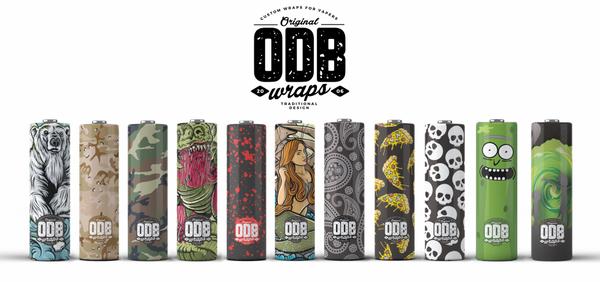 Bilde av ODB - Wraps for 18650 Batteri (4pk)
