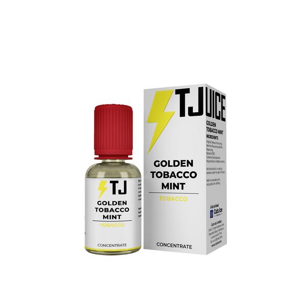 Bilde av T-Juice - Golden Tobacco Mint, Konsentrat 30 ml